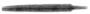 116755: Two edged bronze sword