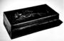126227: old rectangular box with hinge