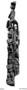 175497: carved wood post or door jamb
