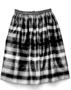 150892: Skirt of woven silk Alternating