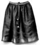 150887: Skirt of Green Silk Narrow