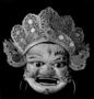 120645: Mask of White Kin-kang as shown
