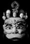 120652: theatrical mask of Kubera as