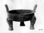 117375: Bronze tripod vessel