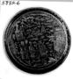 110019: tin, [pewter] box, brass inlays