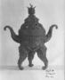 117627: bronze tripod censer