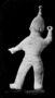 117842: hollow mortuary clay figure of