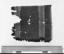 31533: wool, pigment textile fragment