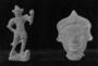 117091: lead figure of a knight in