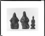 121005: cast iron relief figures of