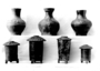 118622: ceramic, glaze vase