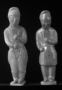 117960: mortuary clay figures of