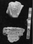 156564: Alabaster vessel fragment head