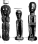 90899: Anito human figure carved wood