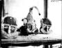 175972: Beadwork mask and headdress