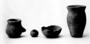 168321: grave artifacts Miniature pots