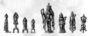120044: bronze religious figures of