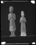117963: mortuary glazed clay figures of