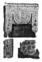 173890: garment fragment wool, linen