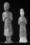 117961: mortuary glazed clay figures of