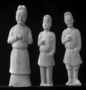 117939: mortuary clay figures of