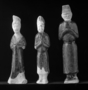 117958: glazed mortuary figures of an
