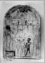 31275: stone, paint grave tablet
