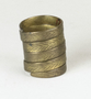 128121.1 brass finger rings
