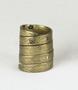 128121.3 brass finger rings