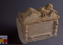 105224.1-2 cinerary urn and lid