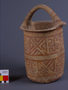 24923 earthenware container