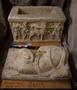 26119 alabaster [marble] burial