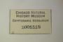 U.S.A. (Colorado), W. A. Weber & J. Erdman 46 (Accession number: 1001518)