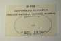 U.S.A. (Colorado), H. A. Imshaug 12134 (Accession number: none)