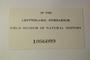 Jamaica, W. R. Maxon & E. P. Killip 1138 (Accession number: 1086009)