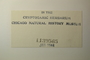 U.S.A. (Pennsylvania), A. Schneider s.n. (Accession number: 1139565)