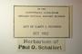 U.S.A. (Washington), P. O. Schallert 20186 (Accession number: none)