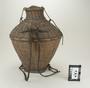 108145 Baka, bamboo insect basket and lid