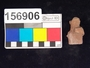 156906 ceramic plaque, human