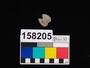 158205 stone amulet, double tear-drop