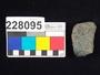 228095 stone sherd