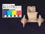 229170 ceramic model, chariot/cart
