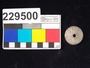 229500 stone spindle whorl