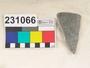 231066 stone sherd, bowl