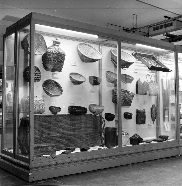 Baskets. Hall E Philippines. Exhibit case 29 (c) Field Museum of Natural History - CC BY-NC