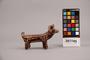 357745 ceramic dog figure