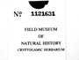 Bringing Schuster, Standley and Co. Into the Third Millenium: The Field Museum's 180K Bryophyte and Lichen Conversion & Digitization Project (Supported by NSF DBI-0749762).
