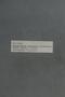 PP 58152 Label