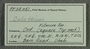 PP 23051 Label