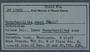 PP 17901 Label